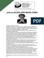 Guia de Lectura Jordi Sierra i Fabra