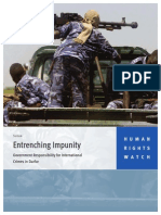 Entrenching Impunity Report