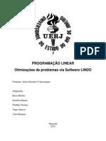 Programação Linear