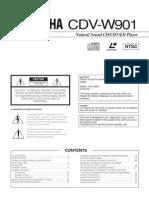 Yamaha CDV W901