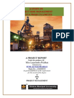 A STUDY ON 