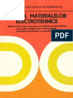 Studiul materialelor electrotehnice