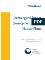 Nuclear Power Plant Licensing