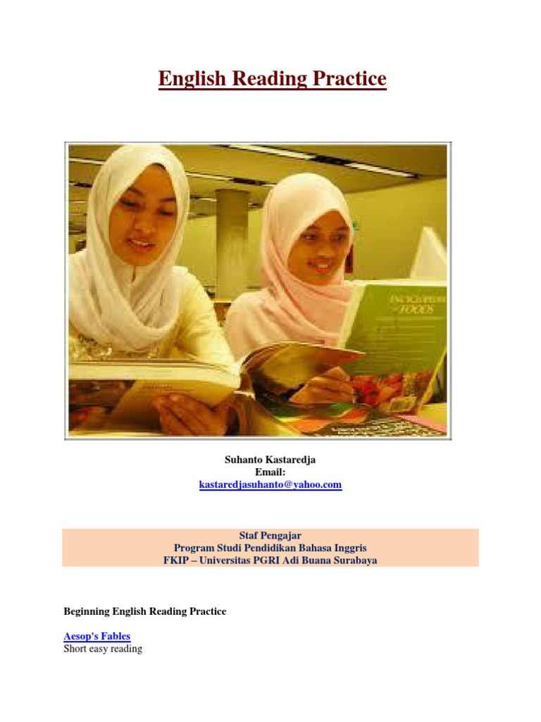 English Reading Practice-1 | Reading Comprehension | English As A