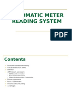 Automatic Meter Reading System