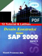 Desain Konstruksi Menggunakan program SAP2000