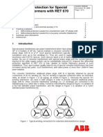 SA2007-000028 - En Differential Protection for Special Power Transformers With RET 670