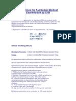 Guidelines for Australian Medical