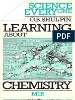 SFE - Learning About Chemistry - G B Shulpin