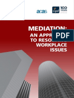 Mediation - Workplace Issues