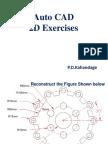AutoCAD 2D Exercises