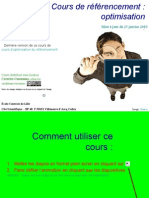 Cours de Referencement Optimisation