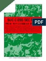 Success Secrets e Joseph Cossman