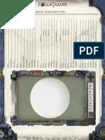 Rogue Trader - Planetary Characteristic Sheet