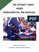 Prehospital Rsi Manual