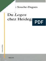 Du Logos Chez Heidegger Denise Souche-Dagues