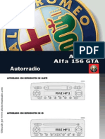 Radio Alfa 156 Sw