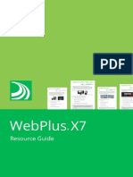 WebPlus X7 ResourceGuide En . Manual