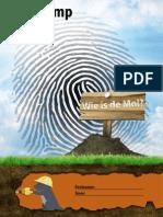 ODO Kampboekje 2014 Wie is de Mol