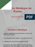 Narrative Metalepse Im Roman
