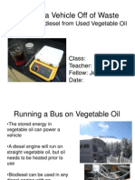 Ohayon Biodiesel Powerpoint