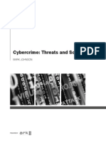 Cybercrime Threats and Solutions Sample1