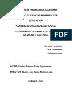 Comunicación Social-Cristian Rojas Campoverde