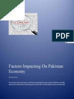 Project Report Factors on Economy