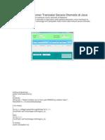 Cara Membuat Nomor Transaksi Secara Otomatis Di Java