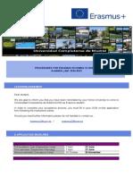 Erasmus Application Procedure 2014-2015