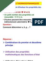 Propriétés-Thermodynamiques