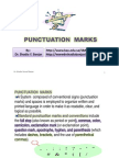 Punctuation Marks, By Dr. Shadia Yousef Banjar