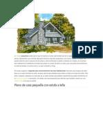 Si Buscas Planos de Casas Pequeñas Puede Que El Que Te Traemos en Esta Oportunidad Sea de Tu Agrado
