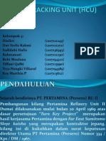 Hydrocracking Unit (Hcu) Ppt