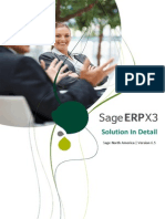SageERPX3 Solution in Detail NA Version