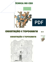 Orientação e Topografia - Ceo