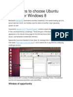 10 Reasons to Choose Ubuntu 12