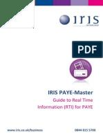 Iris Paye Master Rti Guide
