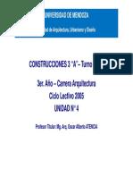 Construcciones 3 - Unidad 5 - Circulación Vertical