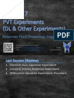 PVT Experiments (DL - Others Experiments)