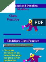 Week 11 Tutorial Modifiers Class Practice