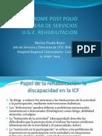 Sindrome Postpolio. Cartera de Servicios UGC. Rehabilitación