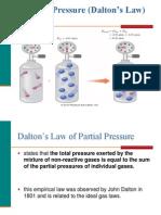 7.9 Partial Pressures (Dalton's Law)