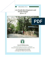 Information Brochure CLL Youth Development and Social Change 2014-15