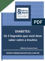 e Book Doce Vida Segredos Insulina