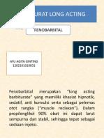 Barbiturat Long Acting