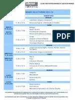 COTES BAIXES Calendario-selectividad-2014 UA