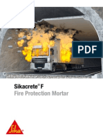 Sikacrete Fire Protection Mortar 201102