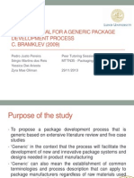 On a proposal for a generic package development.pptx