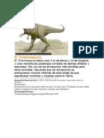 El Tyrannosaurus